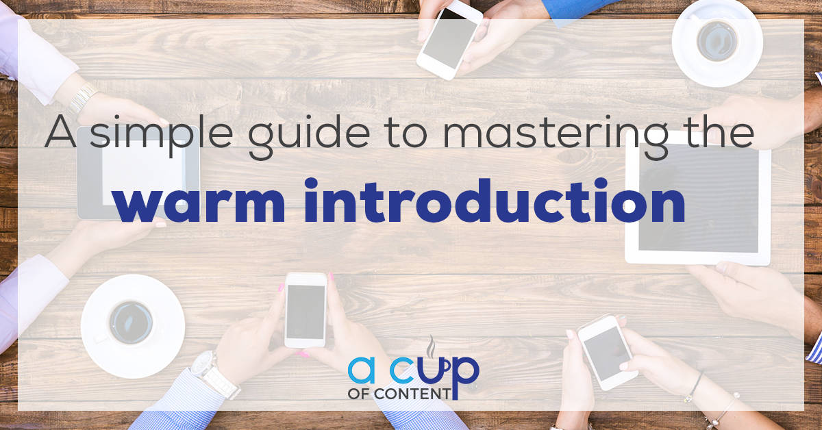 A Simple Guide to Mastering the Warm Introduction