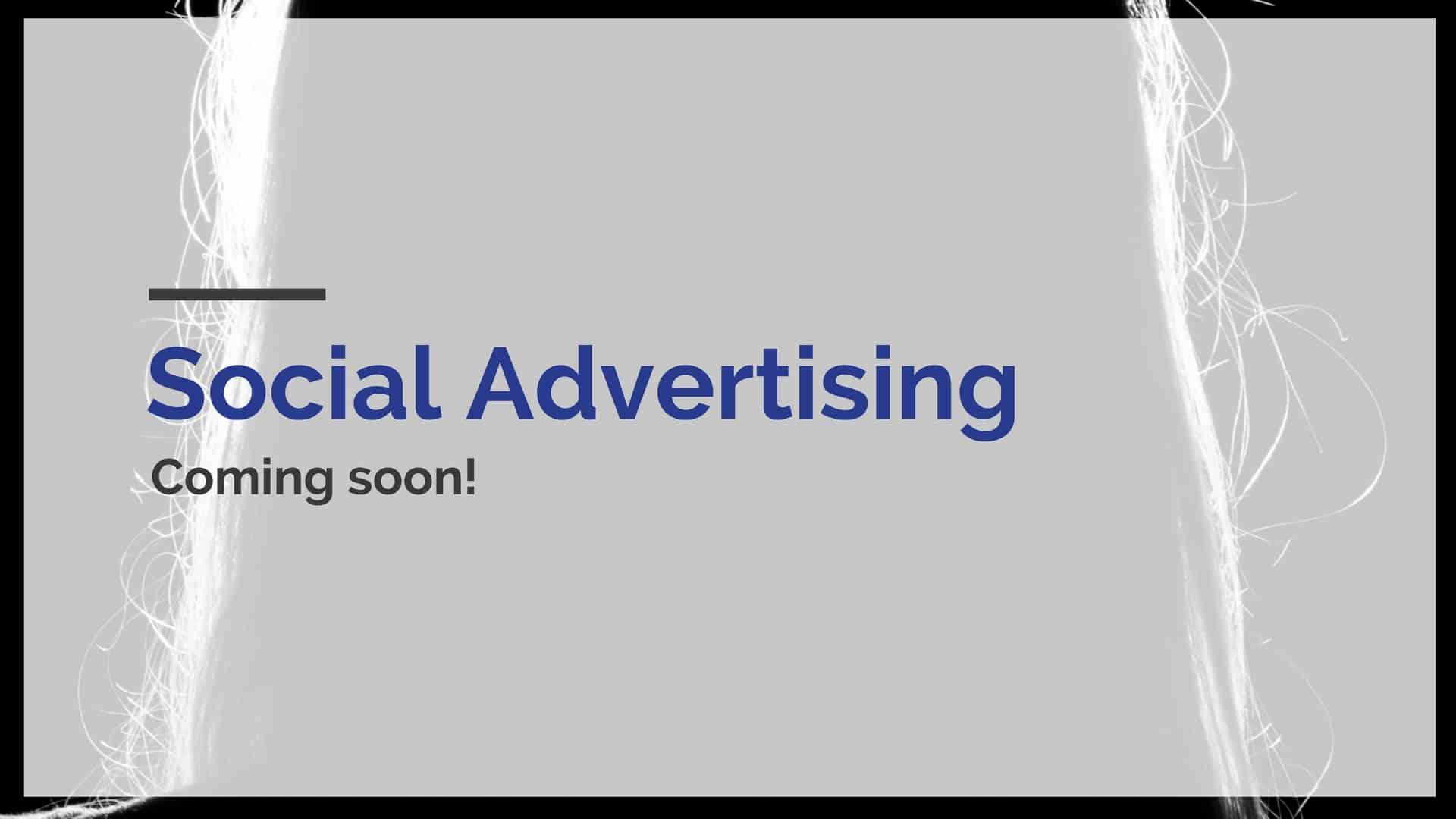 social advertising basics