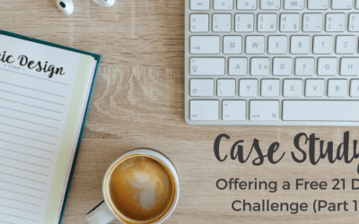Case Study: Offering a Free 21 Day Challenge
