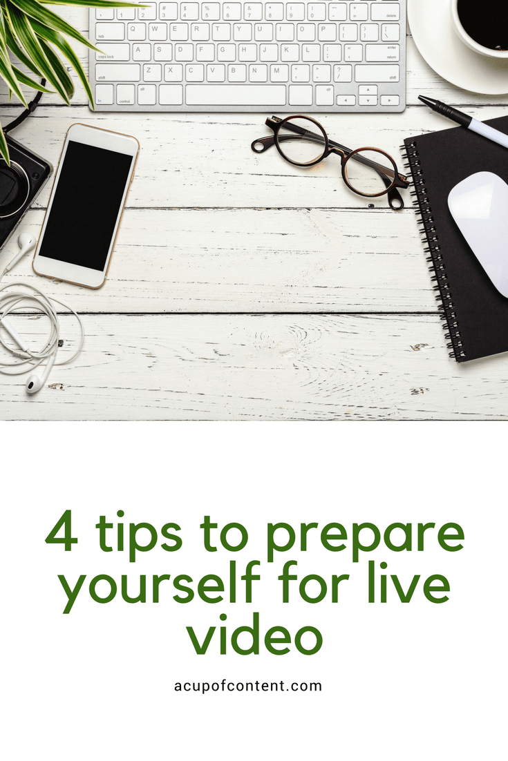 Want to do live video but not sure where to start? We have four simple tips to prepare yourself for live video!