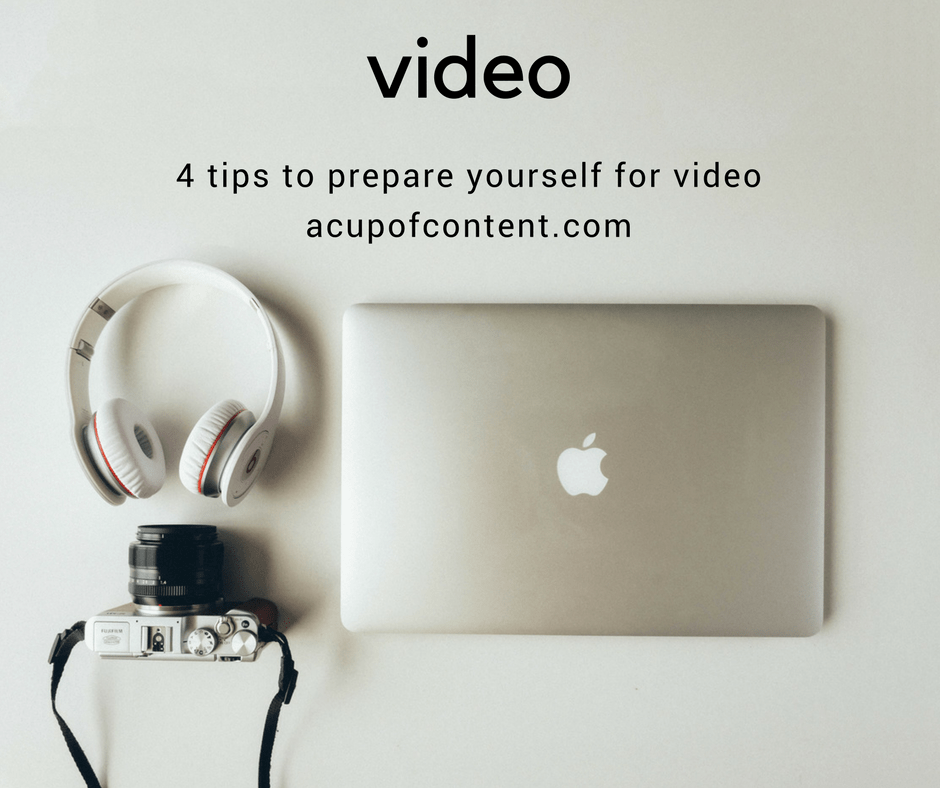 how to prepare for doing video