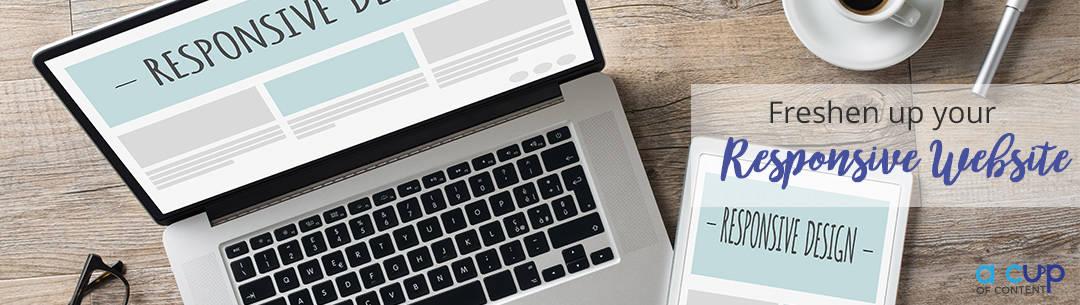 website redesign, responsive web design