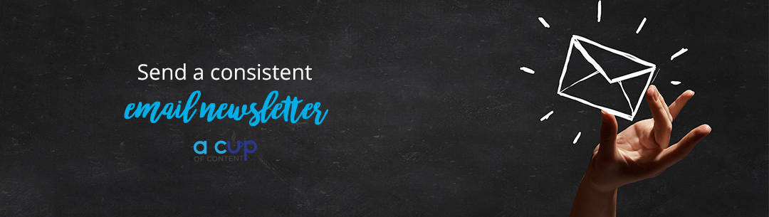 send consistent email newsletter