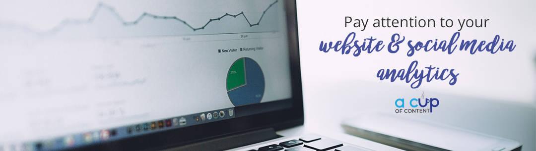 website analytics, social media analytics