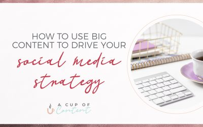 "How to use ""big content"" to drive your social media strategy"