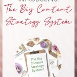 Header image for The Big Content Strategy System