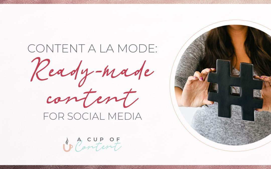 "blog header image for ""ready-made content"""