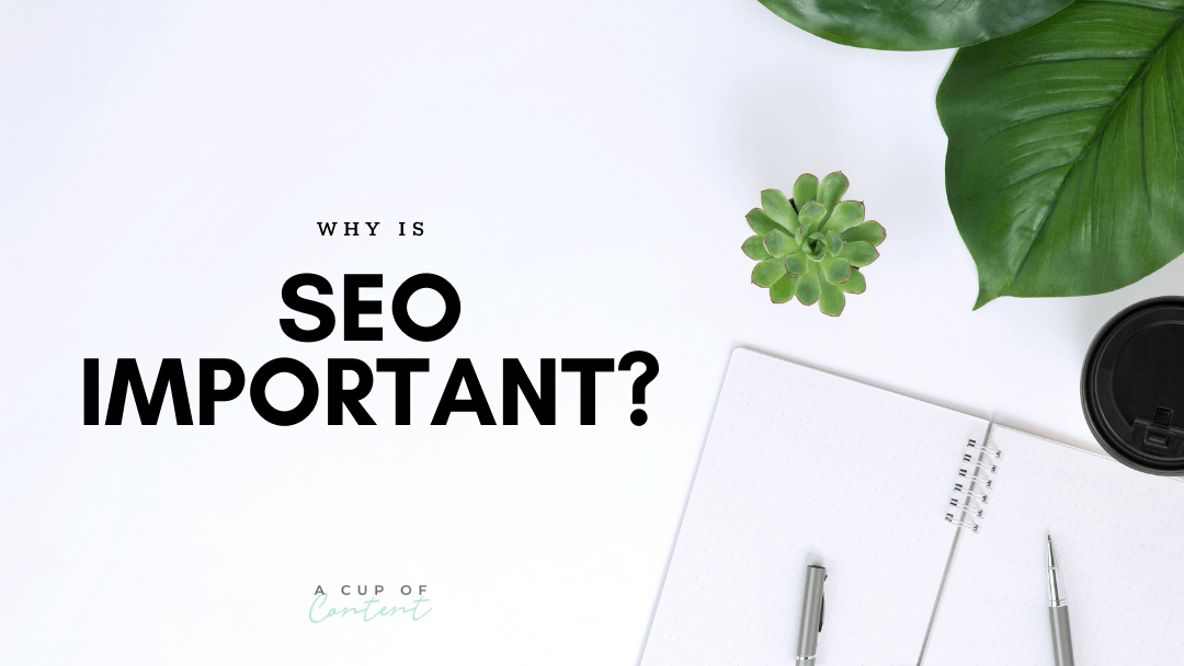 """blog image for """"why is seo important"""""""